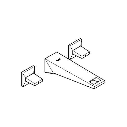 Grohe 20346DC0 Allure Brilliant - Batería para lavabo (3 orificios, DN 15)