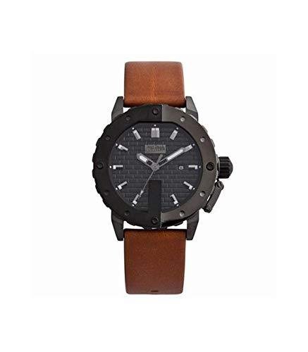 Jean Paul Gaultier Reloj Analógico para Hombre de Cuarzo con Correa en Cuero 8500103