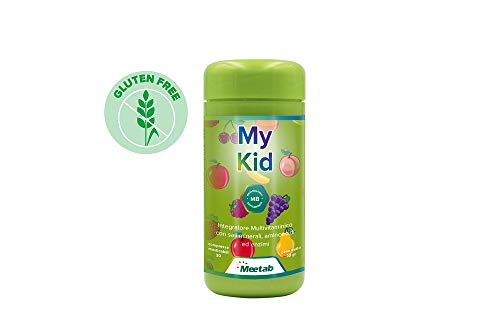Meetab - My Kid - Integratore multivitaminico, (Vitamine, Sali Minerali, Aminoacidi, Enzimi ed estratti naturali di Frutta e Verdura)