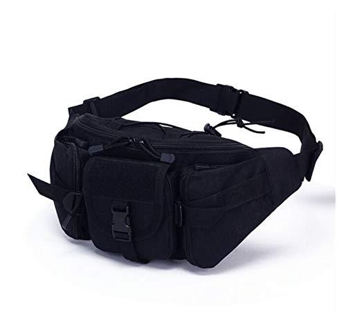 Riñonera Paquete de cintura para hombres Tactical Botella de agua Botella de agua Fanny Pack Cintura Bolsa Bum Bouch Senderismo Camping Bolso de hombro al aire libre Bolso para Senderismo Escalada Pes