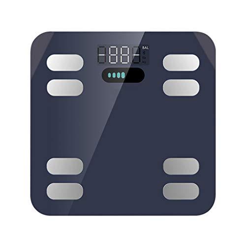 Intelligent Lichaamsvet Schaal, Badkamer Bluetooth Digitale Weegschaal, Smart Body Composition Wi-Fi Digitale Weegschaal Met Smartphone App