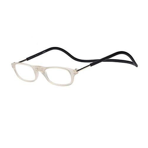 Kopie von Kost Lesebrille mit Magnetverschluss für Sie & Ihn trans/schw. Lesehilfe Fertigbrille +3,0