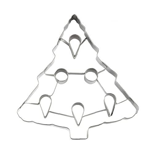 Muffa dei biscotti, torta di natale Taglierine del biscotto 3d albero di Natale dell'albero di Natale del biscotto del biscotto della muffa della pasticceria Stampo della pasticceria Stampo della