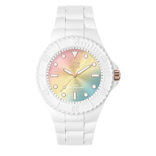 Ice-Watch - ICE generation Sunset rainbow - Reloj blanco para Mujer con Correa de silicona - 019153 (Medio)