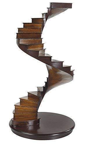 Una escalera de caracol llamado Architekurmodell hueca de escaleras con luz de ojo