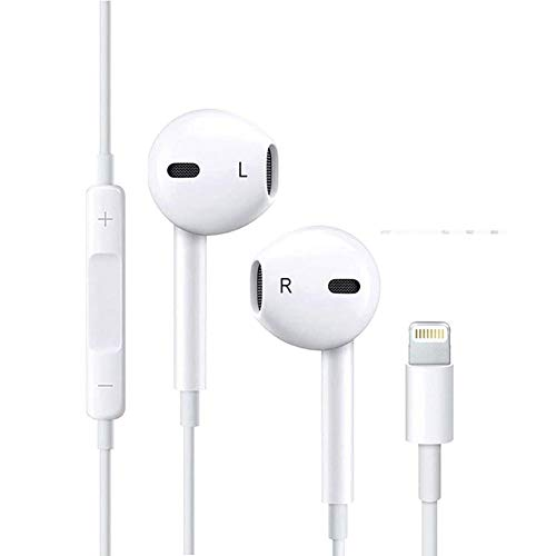 Auriculares estéreo Auriculares con Microfono para In-Ear Control Remoto para iPhone 7/7 Plus/ 8/8 Plus/X/XS/XS MAX