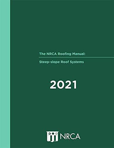 NRCA屋顶手册:陡坡屋顶系统精装......