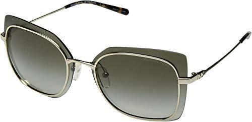 Michael Kors 0MK1040 Gafas de sol, Shiny Pale Gold, 62 para Mujer