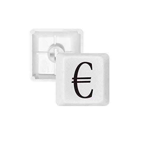 DIYthinker Símbolo de Moneda Euro PBT Nombres de Teclas de Teclado mecánico Blanca OEM No Marcado Imprimir R2