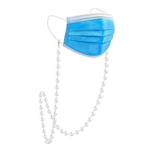 Hifot Cordones para Gafas, Cadenas Lectores Gafas Cuerda para Gafas de Sol Retención Ajustable Cadena Gafas Mujer