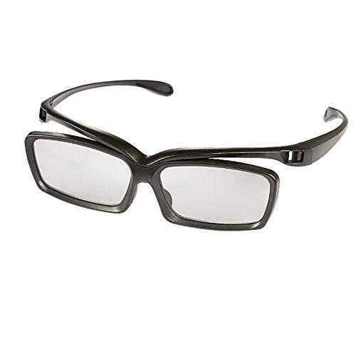 FENGYI KEJI remote control suitable for Letv LeEco 3d super tv 3d glasses F5000 Black Polarized glasses letv