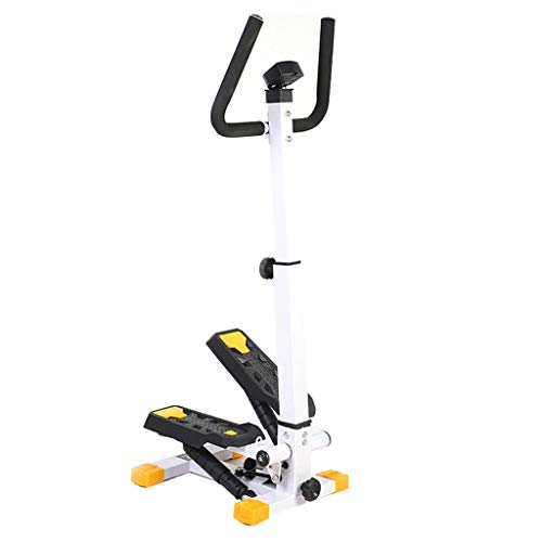 FLAMY Side Stepper mit Handgriff, Mini-Stepper mit Haltegriff, Fitnessgeräte zur Fettverbrennung, Kann 100 kg Reichweite aushalten,Geeignet zur Gewichtsreduktion