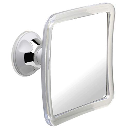 Mirrorvana Fogless Shower Mirror for Fog Free Shaving with Upgraded Suction-Cup, Shatterproof -