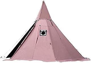 camping strand enkelt tält utomhus campingtält tält hem 4 säsongstält med spishäll, höjd 240 cm / 7,8 fot