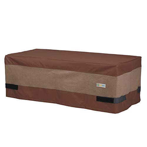 Duck Covers Ultimate Waterproof 47 Inch Rectangular Patio Coffee Table Cover