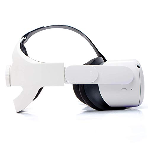 Adjustable Head Strap for Oculus Quest 2 VR Headset, Enhanced Support and Comfort in VR Gaming