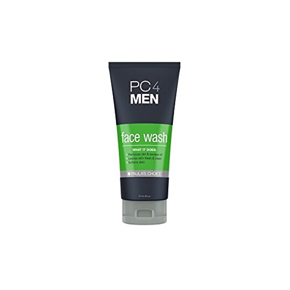 バランスのとれた制限期待するPaula's Choice Pc4Men Face Wash (177ml) - ポーラチョイス4の洗顔料(177ミリリットル) [並行輸入品]