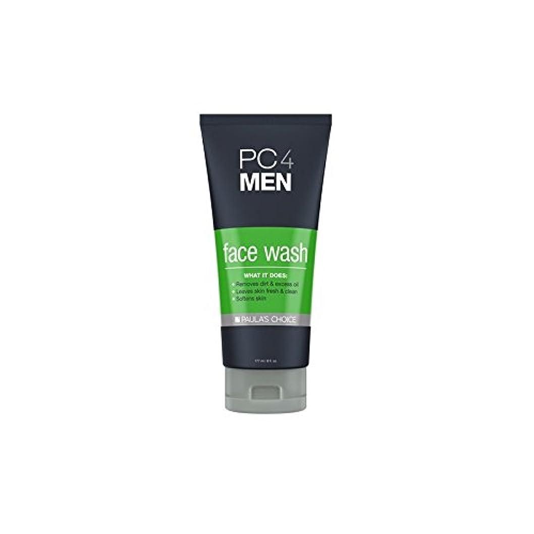 真空運動労苦Paula's Choice Pc4Men Face Wash (177ml) - ポーラチョイス4の洗顔料(177ミリリットル) [並行輸入品]