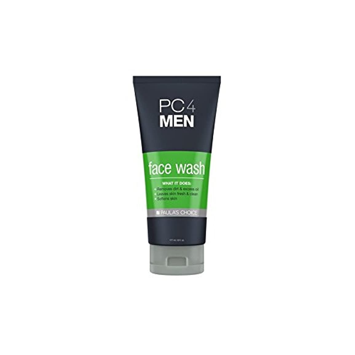 書誌価格療法Paula's Choice Pc4Men Face Wash (177ml) - ポーラチョイス4の洗顔料(177ミリリットル) [並行輸入品]