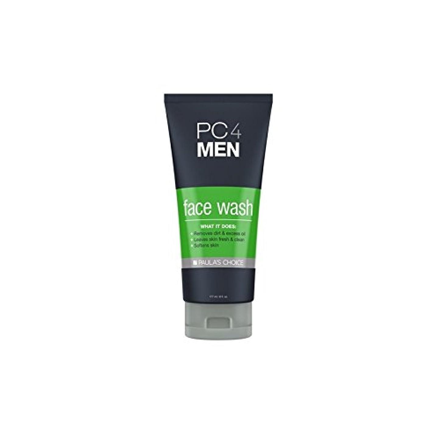 才能のある予測スペルPaula's Choice Pc4Men Face Wash (177ml) (Pack of 6) - ポーラチョイス4の洗顔料(177ミリリットル) x6 [並行輸入品]
