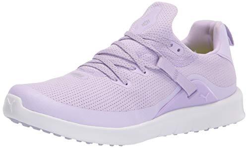 PUMA Zapatos de Golf para Mujer Laguna Sport, Color Morado, Talla 36 EU