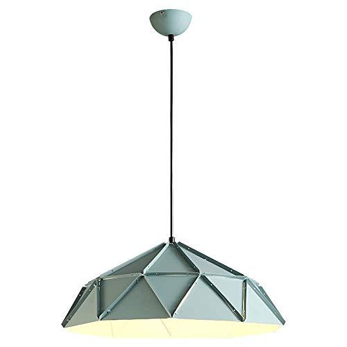 Nordic araña de metal moderno con lámpara de suspensión espíritu creativo cubierta del hierro labrado rústico restaurante de estilo tapa de la lámpara araña de café de la barra decorada E27 / R26