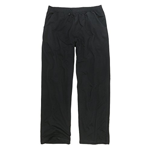 ADAMO Schwarze XXL Jogginghose in Übergrößen 14XL, Größe:7XL
