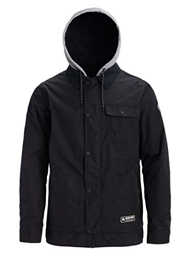Burton Herren Dunmore Snowboard Jacke, True Black, M