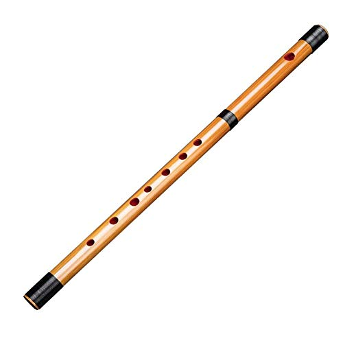 Fikujap Japonesa Flauta, Flauta de bambú, Piccolo, portátil, para los Festivales Tradicionales y música,Six Holes