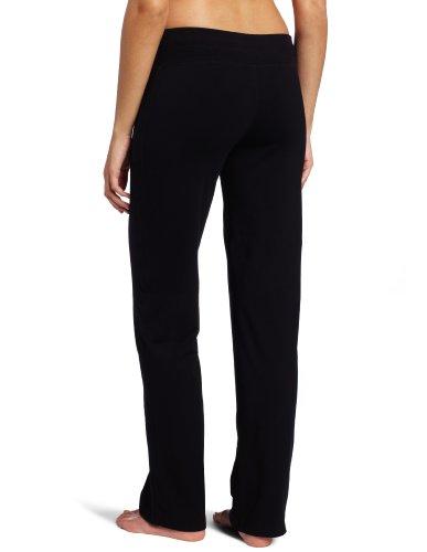 Danskin womens Straight athletic pants, Black, Medium US