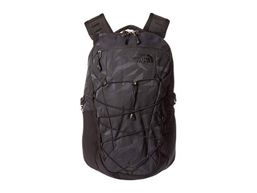 The North Face Borealis Laptop Backpack - Bookbag for Work, School, or Travel, TNF Black Camo Jacquard/TNF Black, One Size