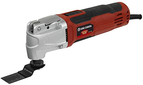 King Canada 8349QR 30 Piece High Frequency Oscillating Multi Tool Kit