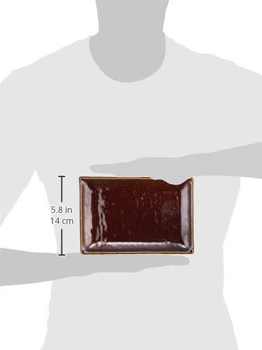 西海陶器 焼物 皿 あじわい 日本製 20.5 × 13.5 cm 5枚 セット 13352