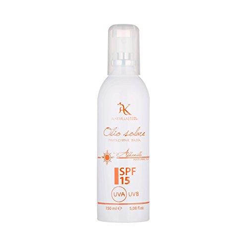 alkemilla – Huile Solaire Spray Protection SPF 15