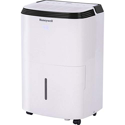 Honeywell TP30WKN Energy Star Dehumidifier for Small Room & Crawl Spaces up to 1000 sq ft with Anti-Spill Design & Filter Change Alert, White