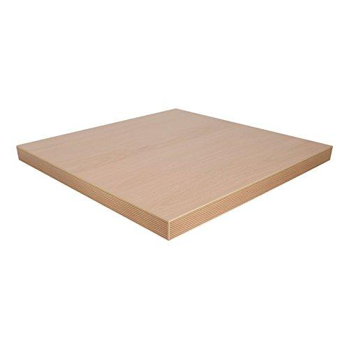 Dekorspanplatte Ellmau Buche Spanplatte als Tischplatte, Schreibtischplatte, Laden- & Möbelbau, Maße: 84 x 60 cm, Stärke: 28 mm