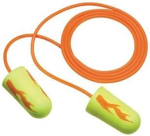 3M Aearo Super sale period limited E-A-R Miami Mall soft Yellow Neon Blasts Corded Ear Tappered Plugs