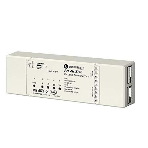 KNX RGBW LED Controller ATOS4 4-Kanal, 12-36V 4x4A
