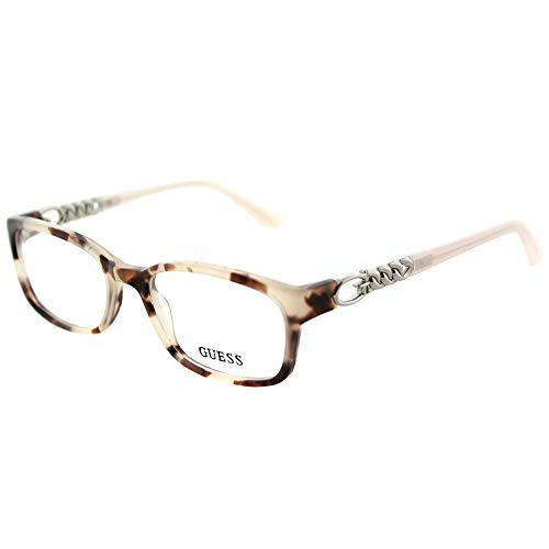 Guess Guess Unisex-Erwachsene GU2558 055 51 Brillengestelle, Braun (Avana Colorata)