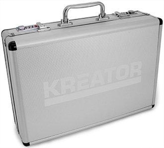 Werkzeugkoffer Werkzeug Koffer bestückt 51 Teile - Aluminium 39 x 29 x 11 cm - 4