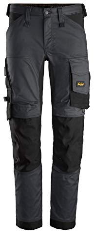 Snickers Workwear Unisex Pants, Grey, 46