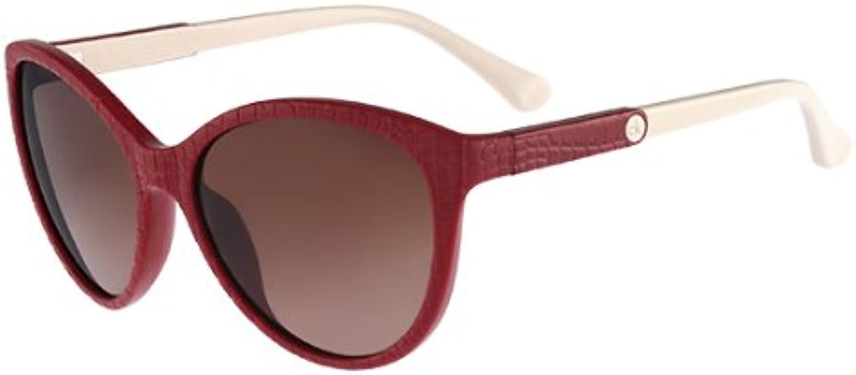 CK Women's Sun CK3149S 365 Red Oval 57mm Sunglasses