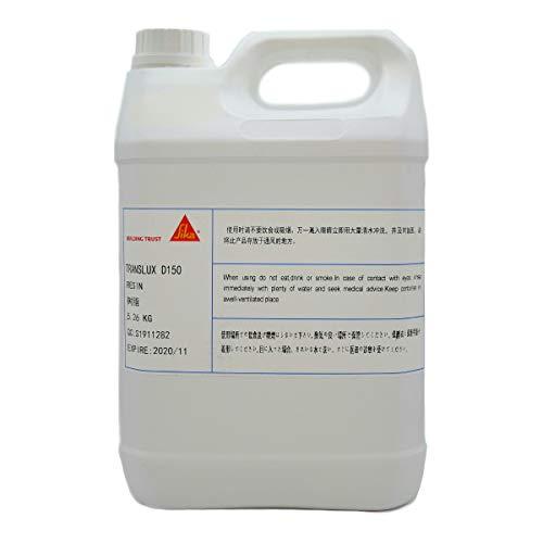 TRANSLUX D150 主剤5.26kg (トランスラックス) エポキシ樹脂 低発熱 高透明 低粘度 難黄変 自己脱泡 リバーテーブル