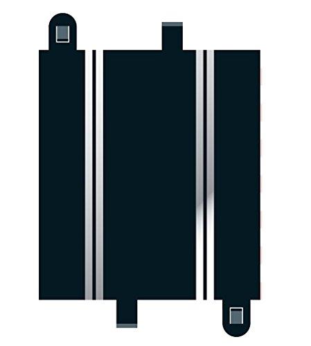 MKD - Circuit voitures - 1/2 Rail Droit 175Mm - 2 pièces
