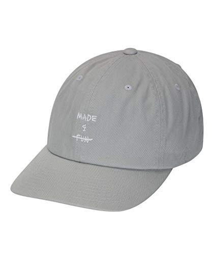 Hurley W MADE4FUN Dad Hat Gorras/Sombreros, Mujer, Light Grey, 1SIZE