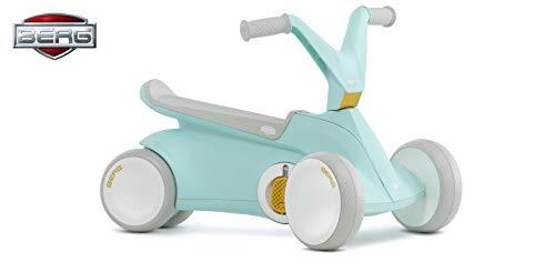 Berg GO² 2in1 Rutschauto | Rutscher und Laufrad, Kinderrutscher, Kinderauto mit Ausklappbare Pedale, Pedal-Gokart, Kinderspielzeug geeignet für Kinder im Alter von 10-30 Monaten (Mint)