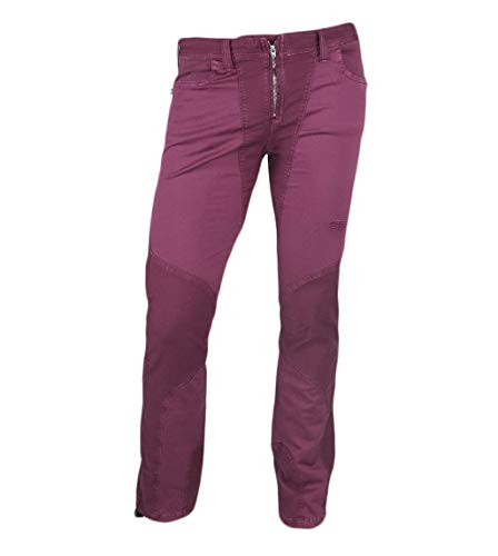 Jeanstrack Tardor Pantalón de Escalada-Trekking, Mujer, Lipstick, S