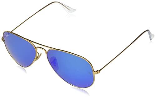 Ray Ban 0RB3025 - Gafas de sol Large Metal, 112/17: Oro mate - 55 mm