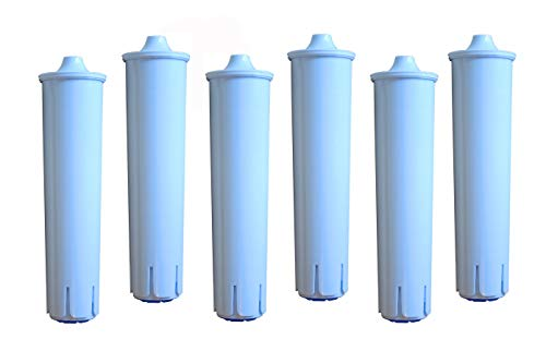 6er Pack - Scanpart Wasserfilterpatrone für Kaffeevollautomaten - Ersetzt die Jura Blue Filterpatrone