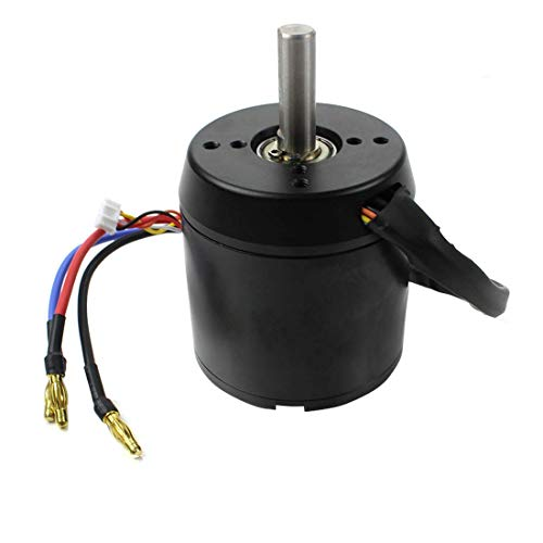 QWinOut High Efficiency 6374 170KV Brushless Motor 2800W 24V/36V for Three/Four-Wheel Balancing Scooters Electric Skateboards with Motor Holzer